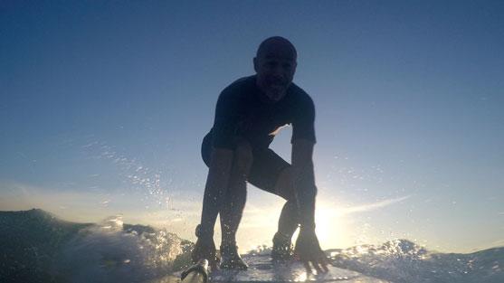 Apprendre take-off surf